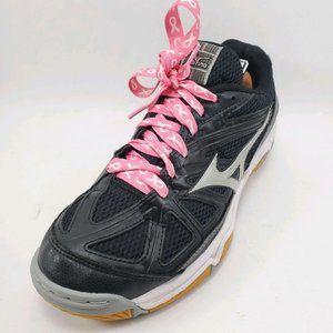 Mizuko | Wave Hurricane 2 Black Running Shoes 10